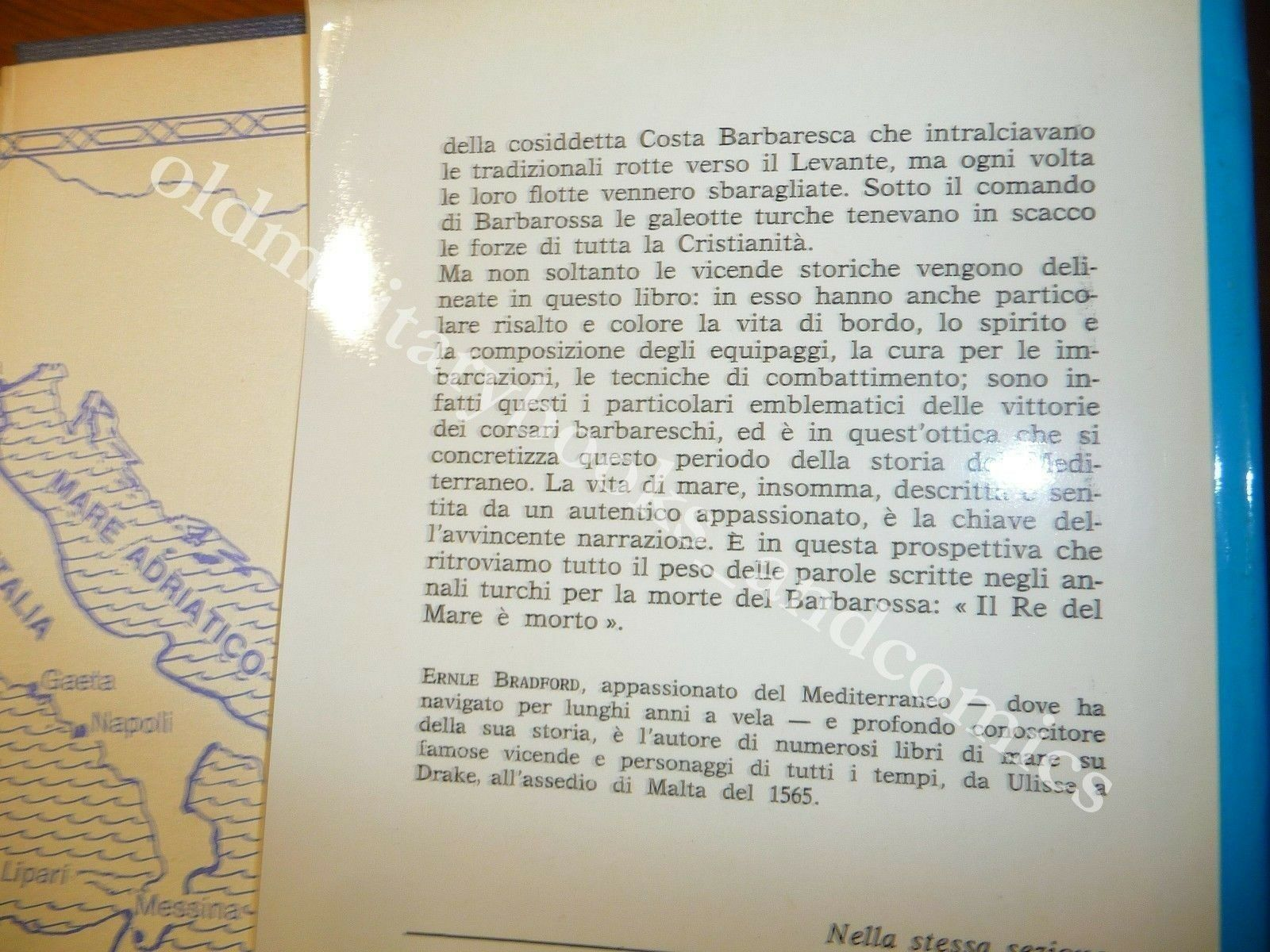 L'AMMIRAGLIO DEL SULTANO VITA E IMPRESE DEL CORSARO BARBAROSSA FLOTTA TURCA
