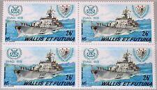 WALLIS et FUTUNA 1989 562 376 4er IMO War Ship Kriegsschiff Schiff Fregatte MNH