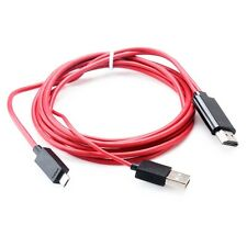 HML Micro USB To HDMI HDTV Adapter Cable For PC Monitor Android Smartphones New