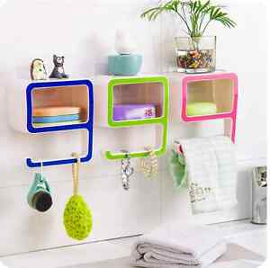 Image Is Loading Number 9 Shape Wall Suction Bathroom Bath Shelf