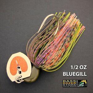Bassdozer-BLADED-jigs-1-2-oz-BLUEGILL-bass-swim-jig