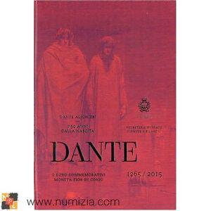 SAN-MARINO-2-Euro-2015-750-Aniversario-del-Nacimiento-de-Dante-Alighieri