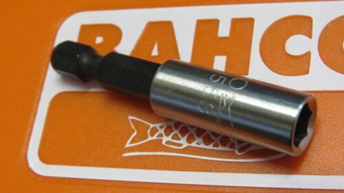 "BAHCO MAGNETIC 1//4/"" HEX 50MM  SCREWDRIVER  BIT HOLDER HIGH QUALITY LOOSE STOCK"