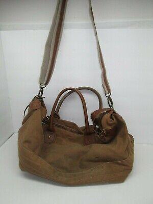 Rakuda Large Heavy Duty Canvas Travel Duffel Bag with Shoulder Strap