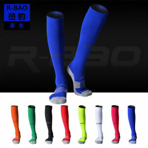 Unisex-Knee-High-Sports-Football-Tube-Soccer-Socks-Compression-Running-Socks