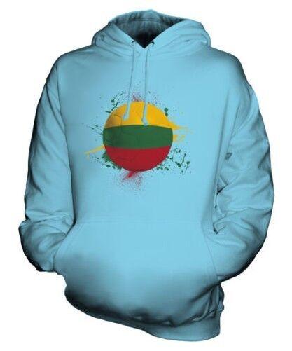 Lituanie Football Sweat à Capuche Unisexe Haut Cadeau Coupe Du Monde Sport