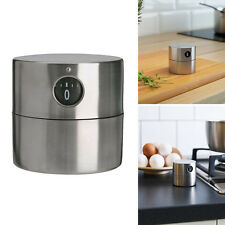 IKEA Ordning Stainless Steel Clockwise Wind-up Kitchen Mechanical Timer