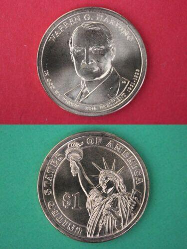 2014 D BU Warren Harding Dollar With 2x2 Snap From Mint Set Flat Rate Shipping