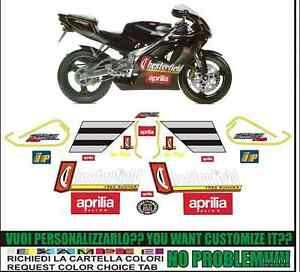 stickers kit stickers compatible rs 250 chester biaggi 1995