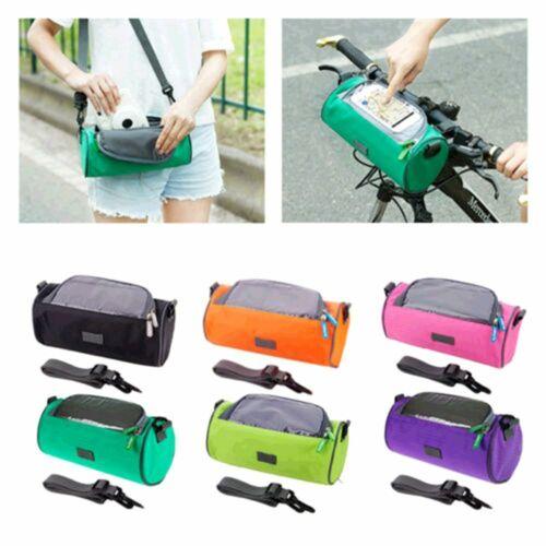 Bike Beam Packet Bicycle Front Frame Bag Upper Tube Package Diagonal Backpack