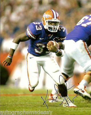 Autographs-original Radient Kestahn Moore Florida Gators Signed 8x10 Photo W/coa