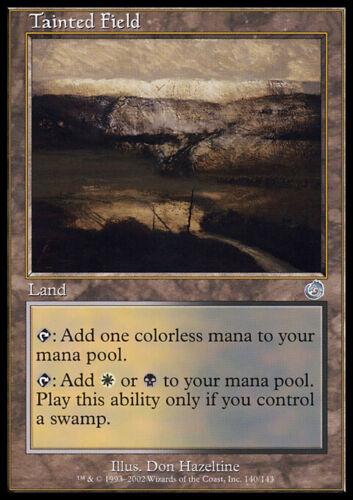 Tainted Field Torment MTG Magic Card