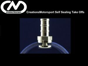 SELF SEALING SILICONE HOSE TAKE OFF KIT BARBED PUSH ON FITTING BOOST AIR AL0164