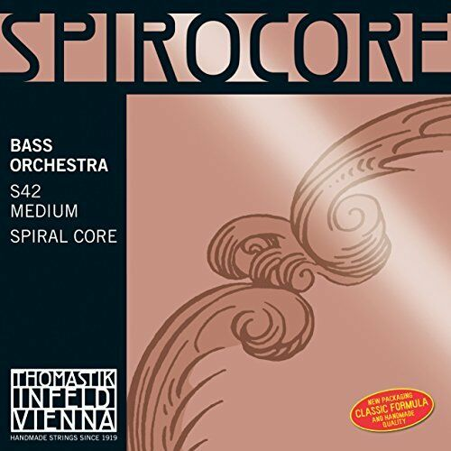 New Thomastik S42W Spirocore Contrabass String Set 4 4 Size