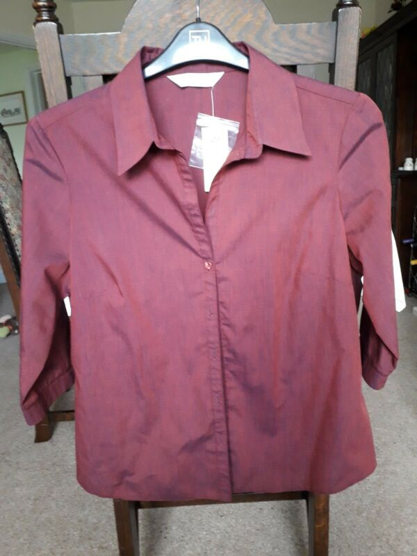 Methodical Ladies Dorothy Perkins Shirt Size 16 To Make One Feel At Ease And Energetic