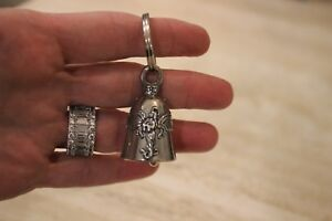 Details about NEW PRAYING ANGEL Guardian® Bell Spiritual Protection Bell  with Key Ring