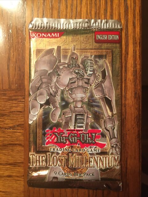 YuGiOh! 1st Edition The Lost Millennium (TLM) Booster Pack! (1 Pack) Rare!