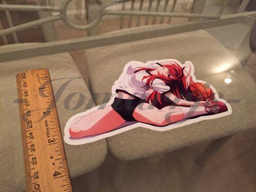 """Anime Rias Gremory /""""Stretch/"""" Sticker Decal Vinyl high school Highschool DxD"""