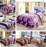Luxury Flannel Soft Microfiber New Plush Bed Sleep Blanket  Single Double King
