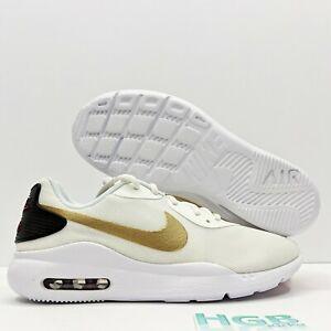 Nike-Air-Max-Oketo-Women-039-s-Running-Training-Sport-Gym-White-Gold-Red-AQ2231-105