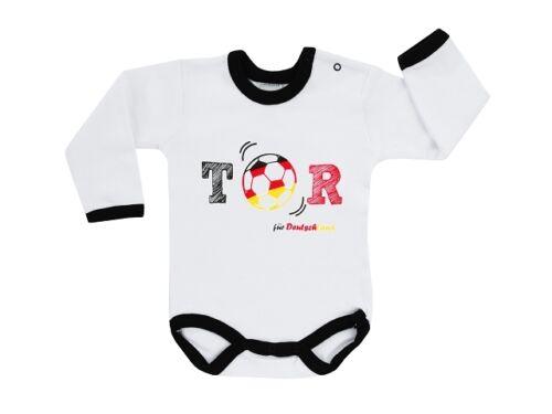 Jacky Baby Body oder T-Shirt 50-104 Shorts WM 2018 Deutschland Fußball  Gr