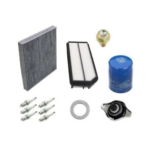 Tune Up Kit NGK Plugs Cabin Air Filter Oil Drain Plug for ...
