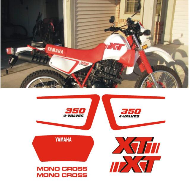 YAMAHA XT350 XT 350 stickers decals high quality