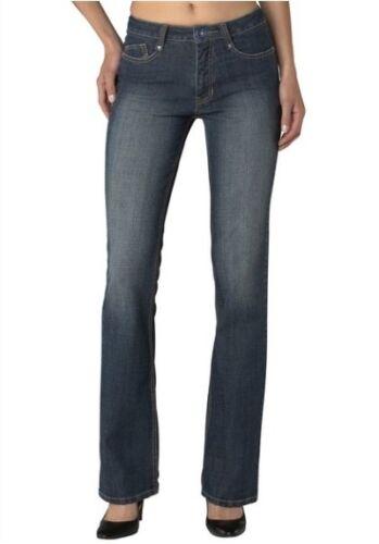 L33 NEU Damen Stretch Hose Bootcut Denim Blue Cross H.I.S Jeans Sunny Gr.34-36