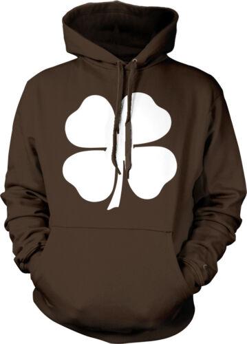 Four Leaf Clover Irish Ireland St Patricks Day Lucky Hoodie Pullover Sweatshirt