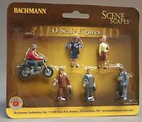 Bachmann Trains City People with Motorcycle Toys