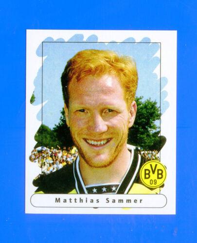 SAMMER BORUSSIA D 16 FUSSBALL BUNDESLIGA 1995-96 Figurina Sticker n -New
