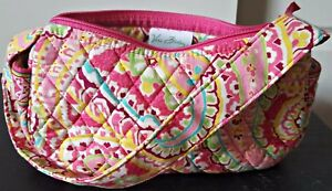 Vera-Bradley-Capri-Melon-Maggie-Small-Shoulder-Bag-Purse-Quilted-Pink-Green-Blue