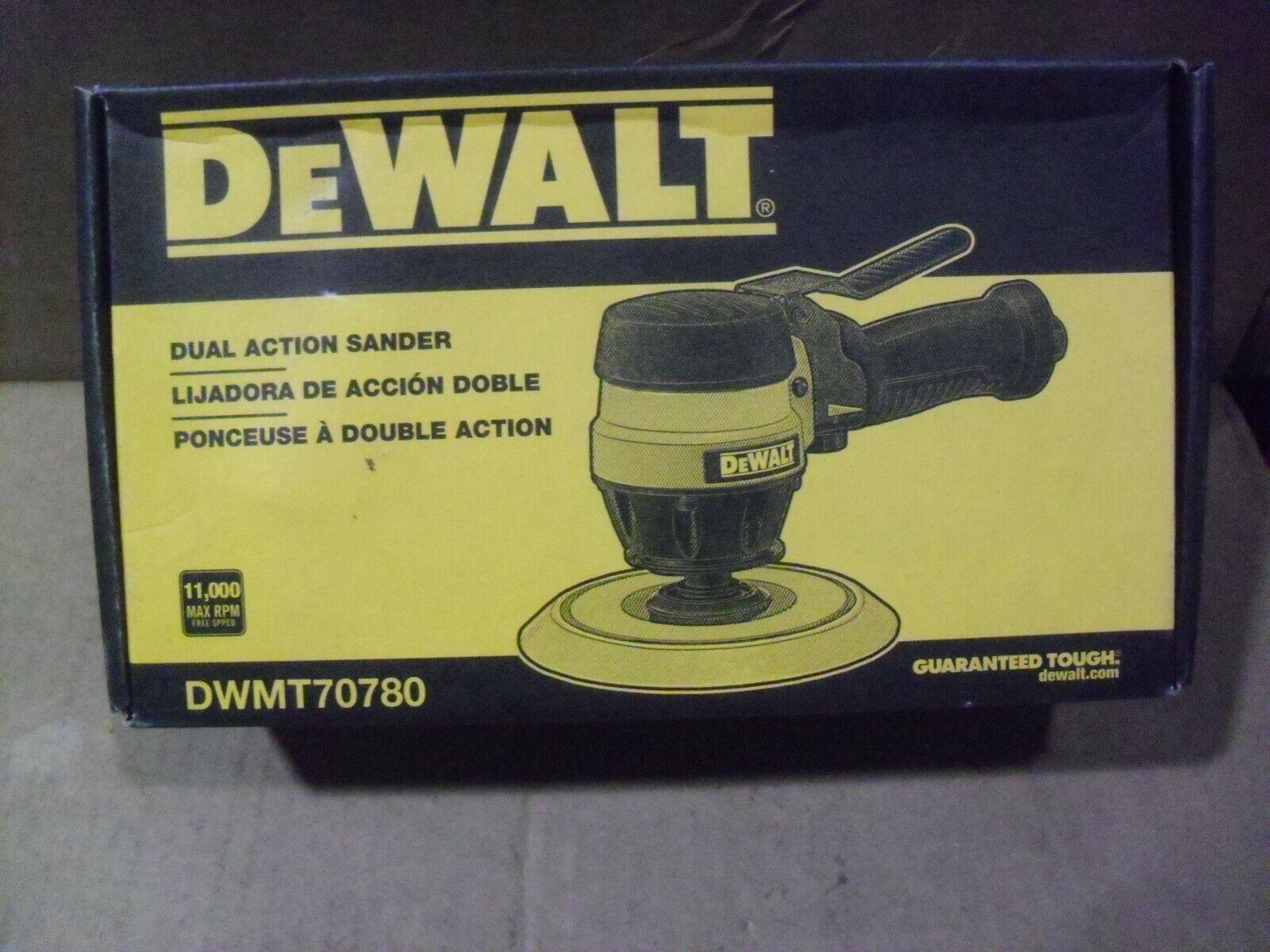 dwmt70780 tf5003 Dewalt 6 Dual Action Air Sander Model DWMT70780