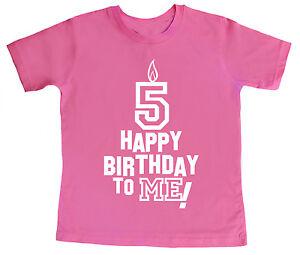 Das Bild Wird Geladen 5 COMPLEANNO T Shirt 034 Happy Birthday To