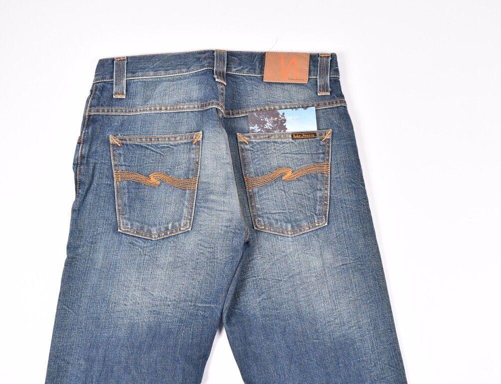 Nudie Unebener Rey Org.worn Denim Herren Jeans in Größe 30 32  | Sale Düsseldorf  | Offizielle  | Ausreichende Versorgung