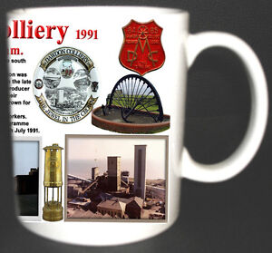 DAWDON-SEAHAM-COLLIERY-COAL-MINE-MUG-LIMITED-EDITION-MINERS-COUNTY-DURHAM-PIT