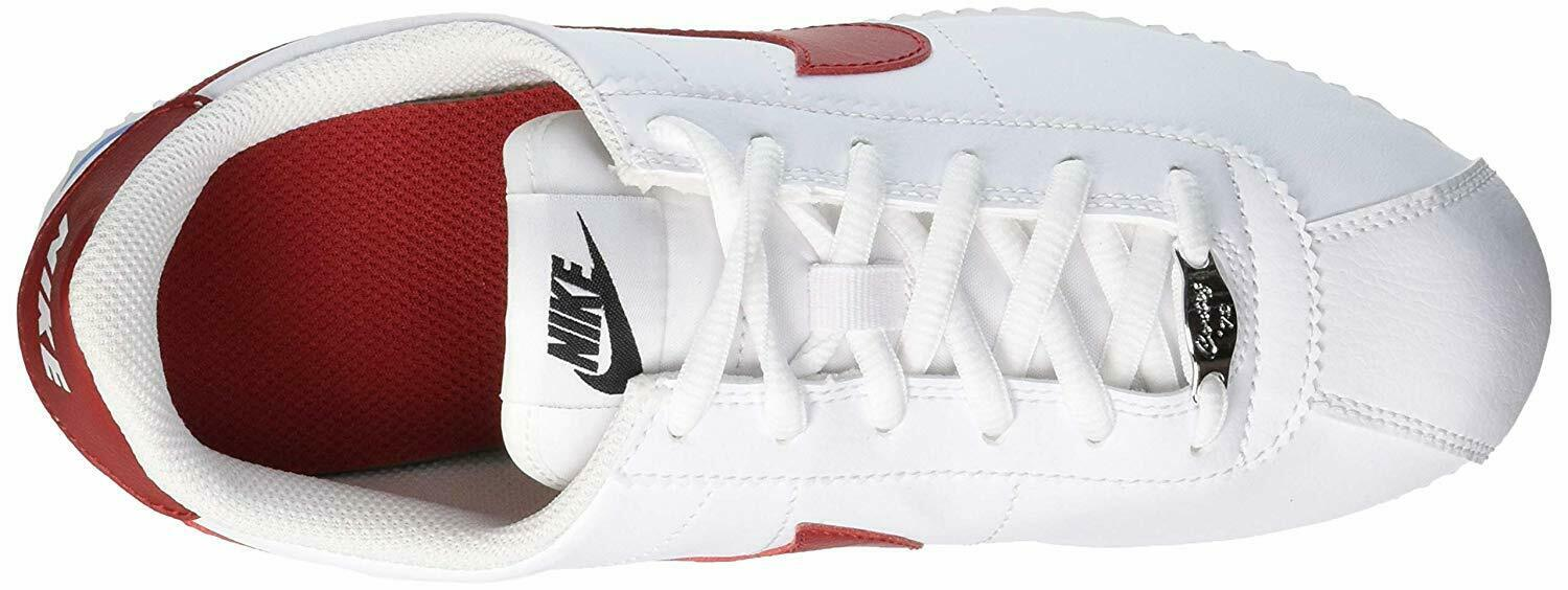 Skor NIKE Cortez Basic Sl (GS) 904764 103 WhiteVarsity Red