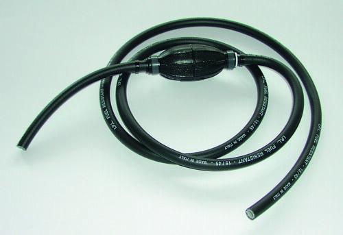Treibstoffschlauch ohne Anschlüssen 8x13mm bis15bar inkl.Pumpball benzinfest