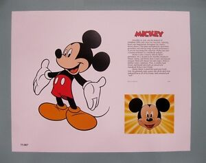 Disney-11-034-x-14-034-Mickey-Mouse-Lithograph-Print-by-OSP-Publishing