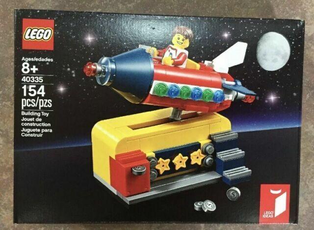 Exclusive LEGO 40335 Lego Ideas Space Rocket Ride Set BRAND NEW 154 Pieces