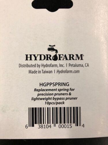 10//Pack NEW Hydrofarm Lightweight Spring Pruner Replacements
