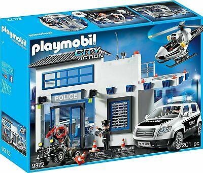 Playmobil 9372 Polizeistation City Aktion Neu Ovp Police Station Hauptquartier Ebay