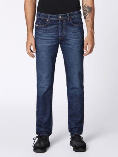 Diesel Buster Jeans Regular Waist Stretch Denim Slim Tapered Leg Wash 084NL