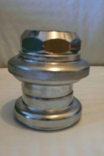 Filetés 22.2 Quill Bicycle Casques loose Roulement à billes Chrome 1 in environ 2.54 cm