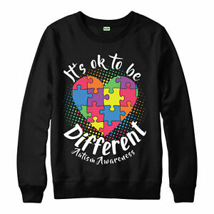 Autism-Awareness-Pull-differentes-Puzzle-Coeur-Amour-Cadeau-Adultes-amp-Enfants-Neuf