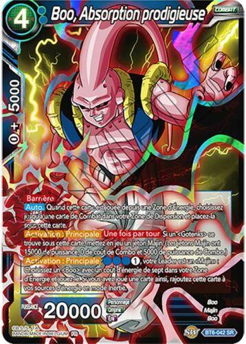 NM Dragon Ball Super Français BT6-042 Boo Absorption prodigieuse Foil