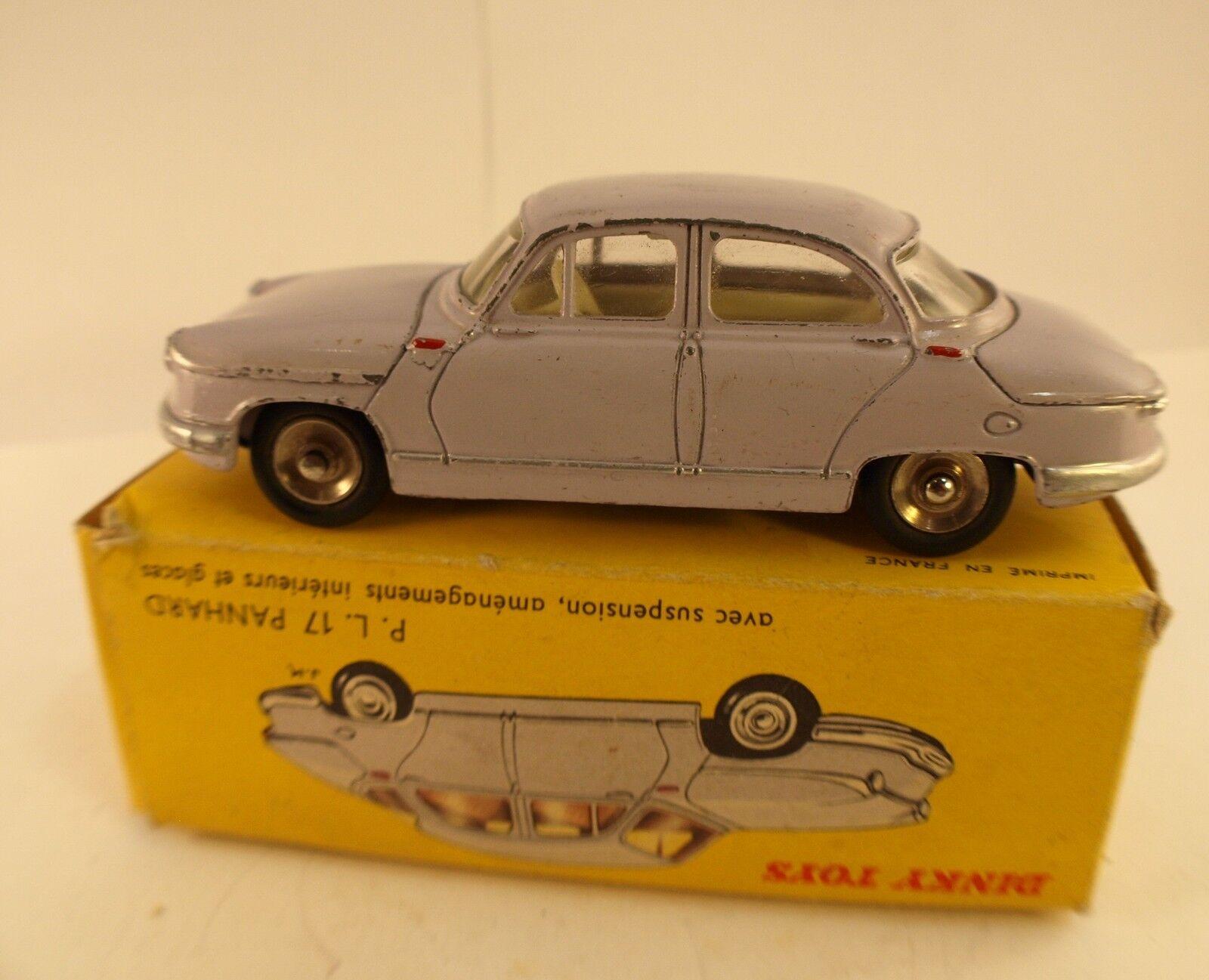 Dinky Toys F n° 547  PANHARD PL 17 version avec portières à 2 types d'ouverture