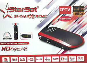 Details about Starsat sr-2020HD Extreme receiver +Forever server +SSTV  +Apollo +vod +youtube