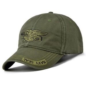 Army-Green-Baseball-Cap-Navy-Seal-Tactical-Snapback-Hat-Adjustable-For-Men-Women