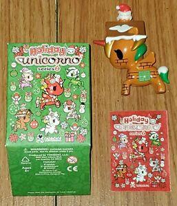 Candela Tokidoki Holiday Unicorno Series 2 Vinyl Christmas Figure